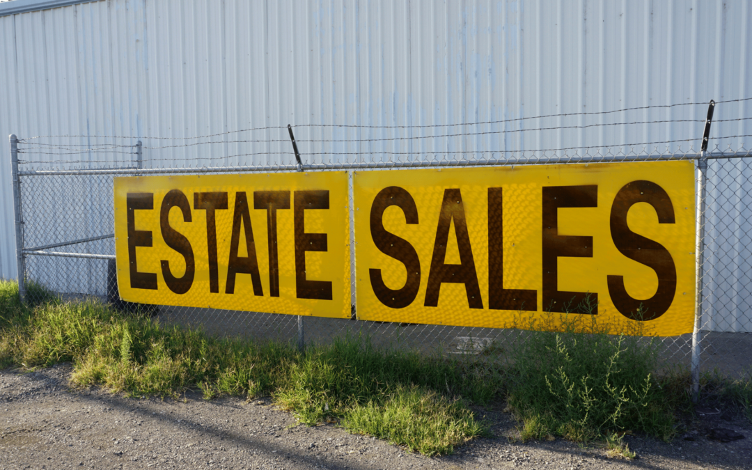 What is an estate sale?